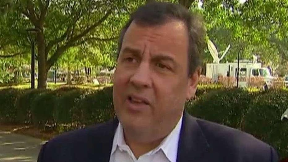 Christie battles media scrutiny