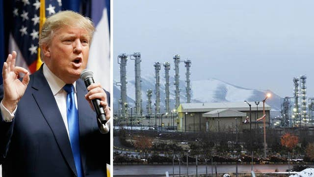 Donald Trump slams Iran deal