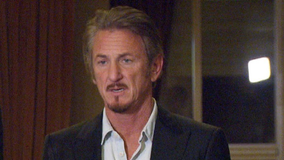 Sean Penn 'really sad' about state of journalism in America