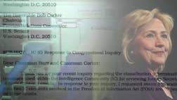 EXCLUSIVE: Hillary Clinton's emails on her unsecured, homebrew server contained intelligence from the U.S. government's most secretive and highly classified programs, according to an unclassified letter from a top inspector general to senior lawmakers.