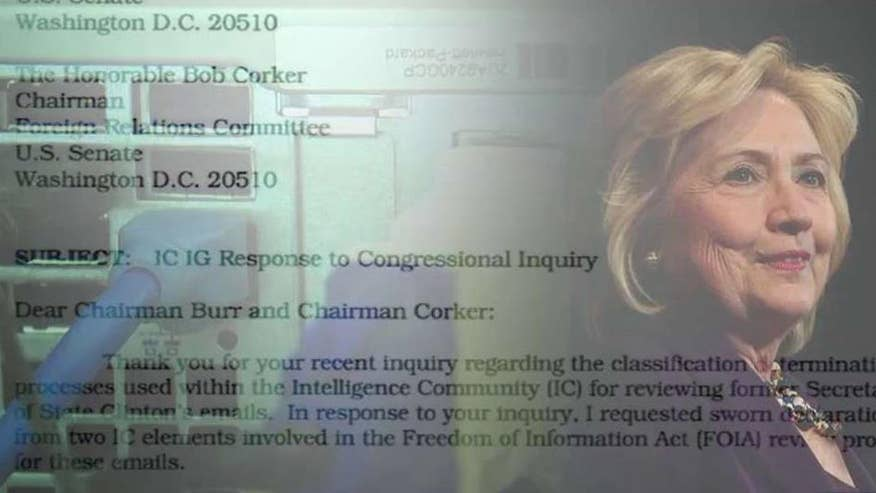 Memos on personal server contained intel from highly classified operations; Catherine Herridge takes a closer look for 'Special Report'