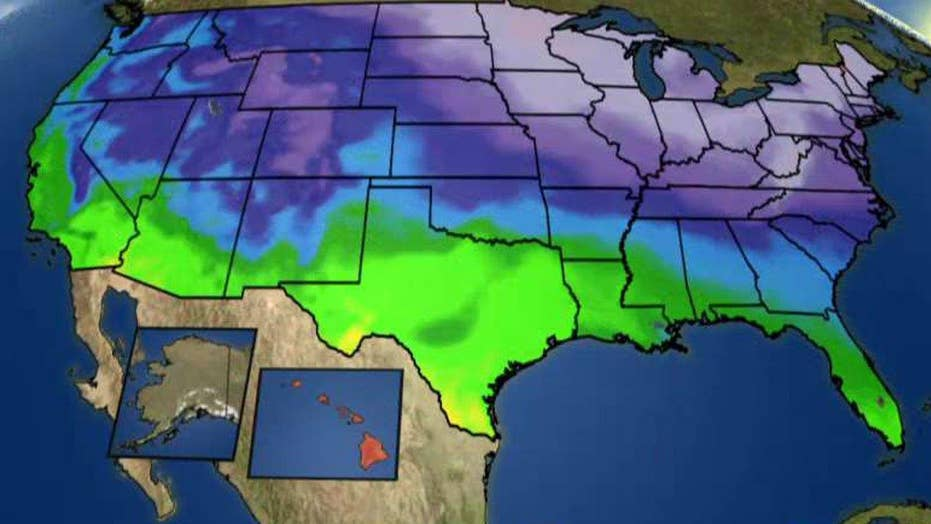National forecast for Tuesday, January 19