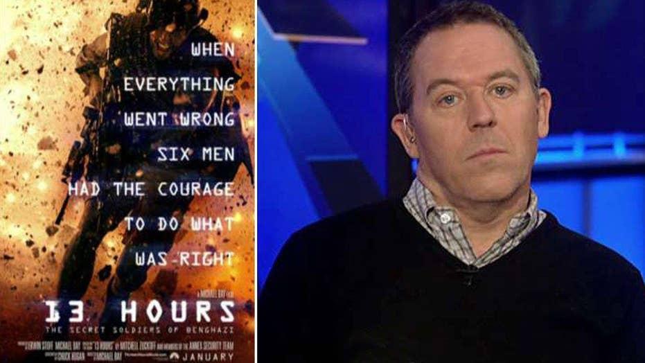 Gutfeld: Liberal critics quick to dismiss '13 Hours'