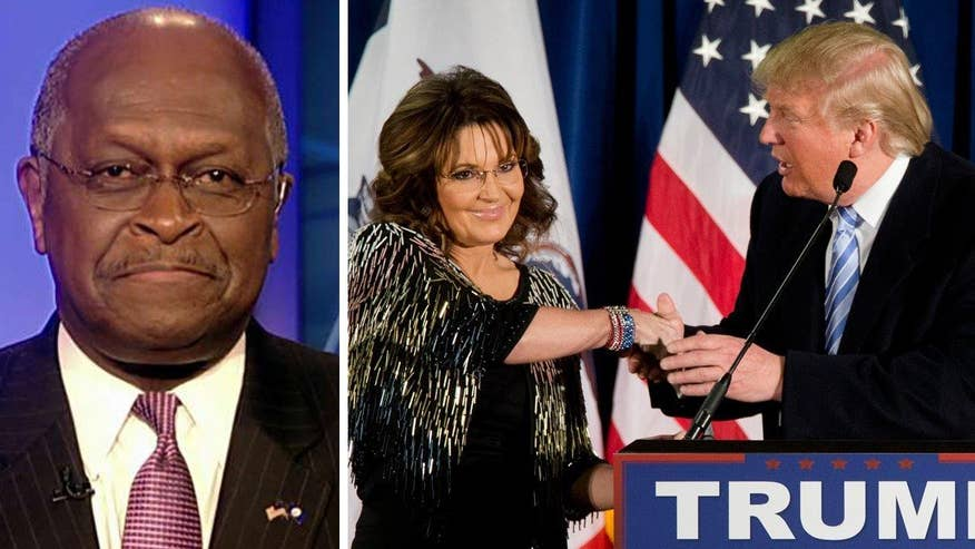 Former presidential candidate Herman Cain tells 'On the Record' that the cumulative effect of Sarah Palin's endorsement of Donald Trump and the Iowa governor's anti-endorsement of Ted Cruz may prove devastating for the Texas senator