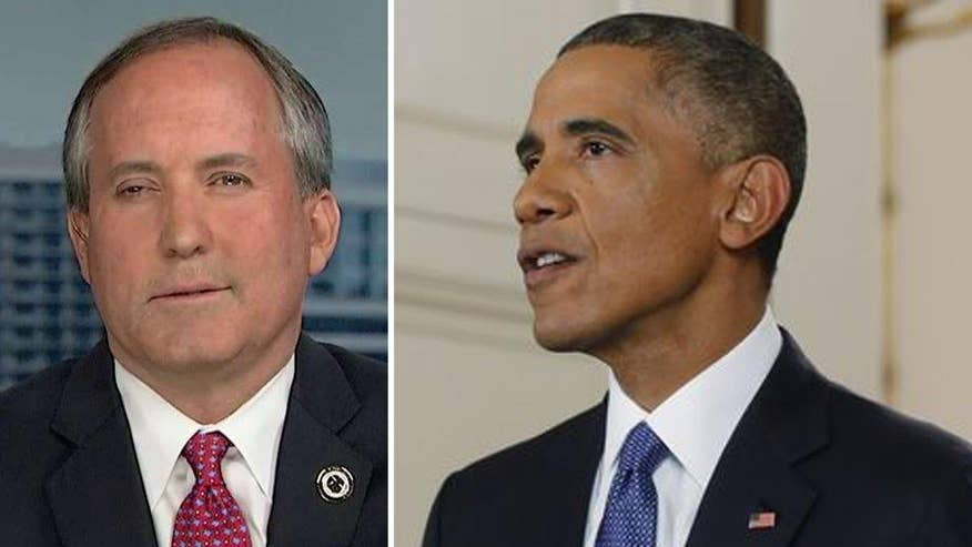 Supreme Court agrees to review executive actions on immigration; Ken Paxton sounds off on 'America's Newsroom'