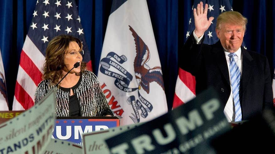 2016 GOP presidential frontrunner Donald Trump goes 'On the Record' on Sarah Palin's pivotal endorsement, why he now believes Ted Cruz is worse than Hillary Clinton when he claimed otherwise months ago and more