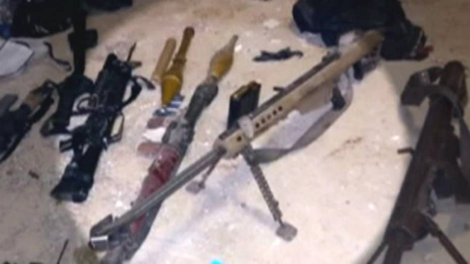 Rifle found at 'El Chapo' hideout from Fast & Furious probe