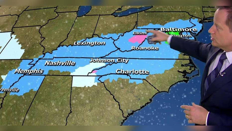 Major winter storm moves across US