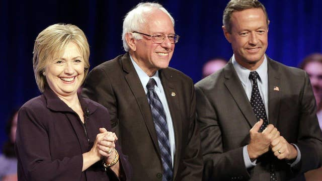 Three questions for the Democratic candidates