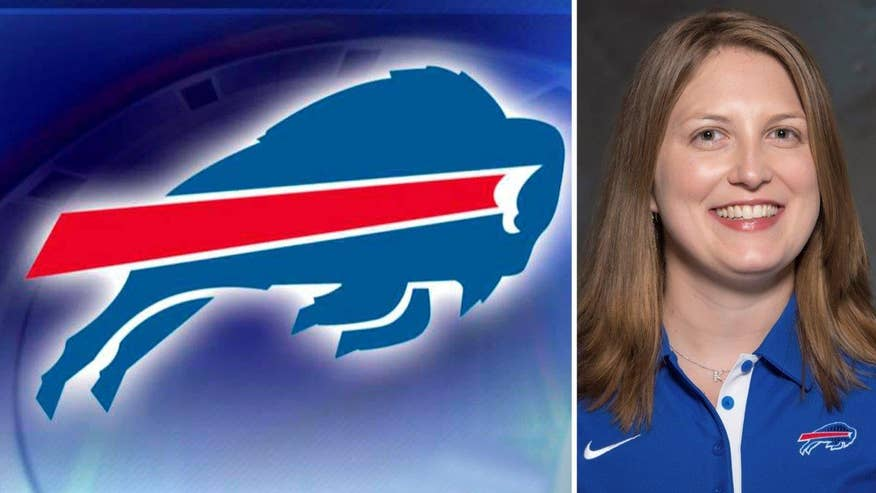 Team hires league's first full-time female assistant coach