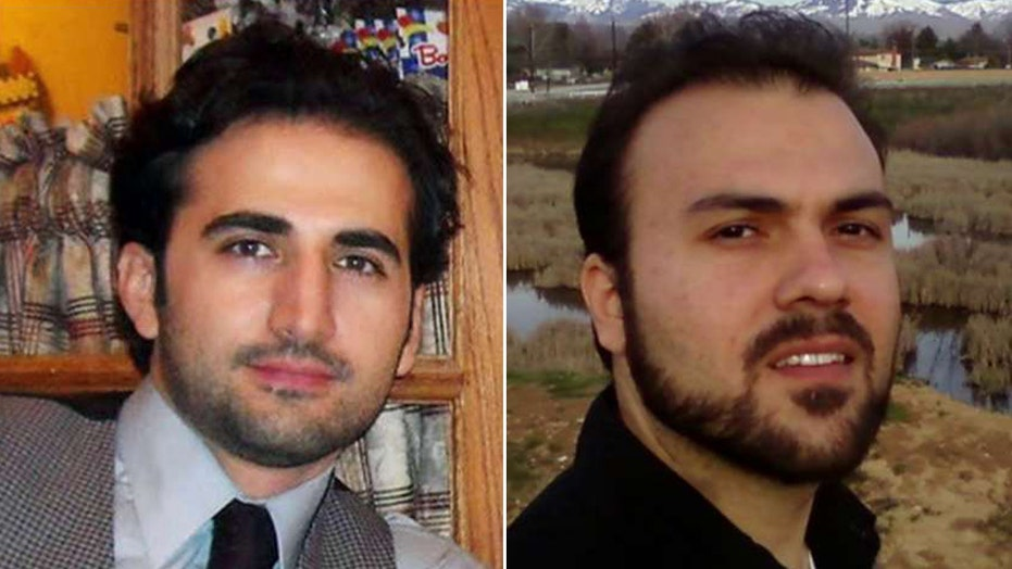 Two Americans released by Iran set to arrive back in US