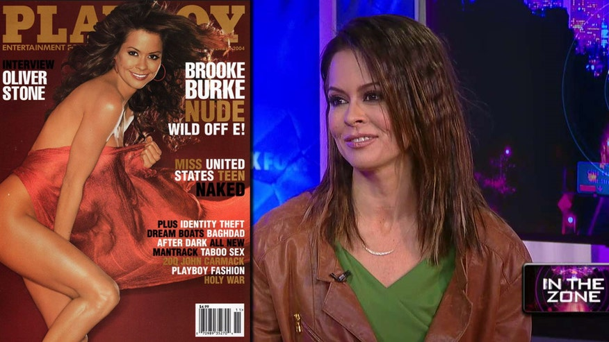 In the Zone:  Actress Brooke Burke-Charvet teams up with Poise