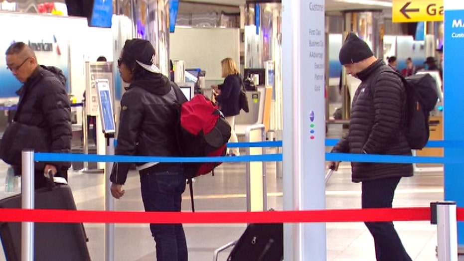 Over 5,000 flights delayed, cancelled ahead of snowstorm