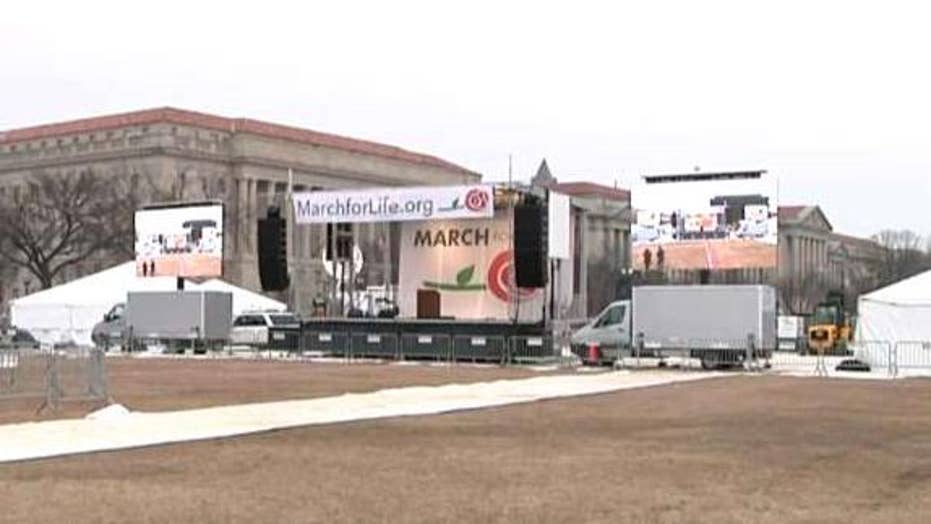 Supporters gather in DC for March for Life rally