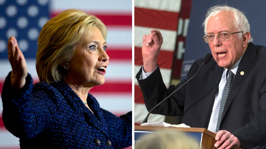 Hillary Clinton and Bernie Sanders locked in a dead-heat