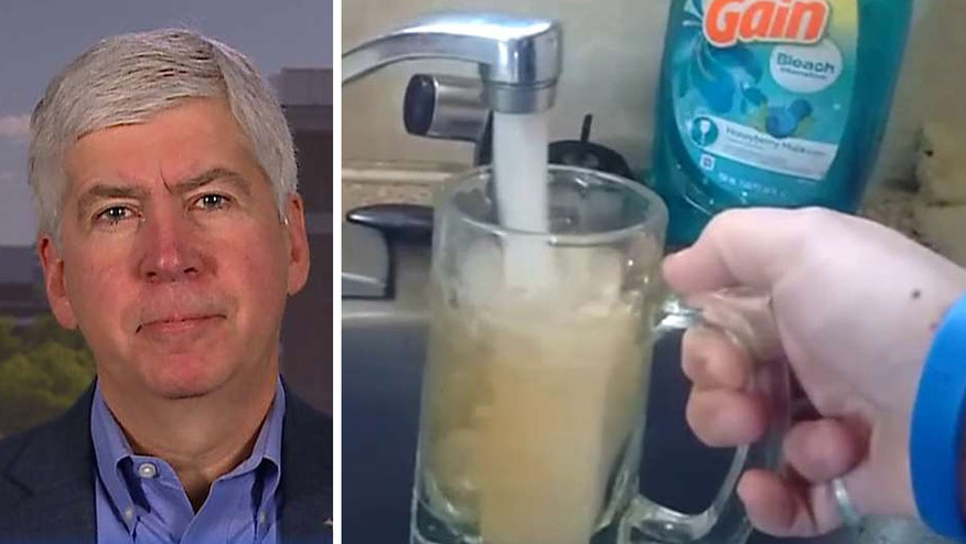 Michigan governor talks what is being done to fix the Flint water crisis on 'Fox & Friends'