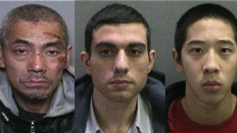 Manhunt under way for escaped inmates in Southern Calif.