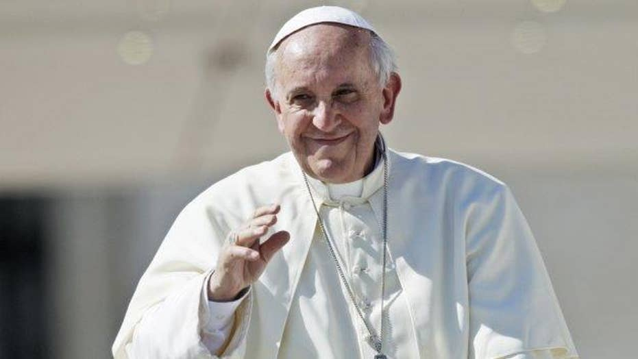Iranian president to meet with Pope Francis