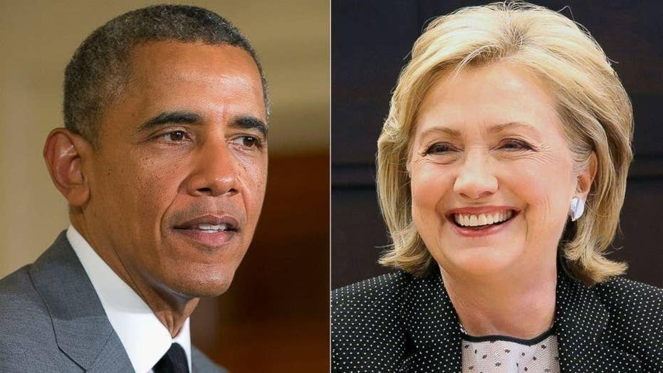 Obama praises Clinton in lead-up to Iowa caucuses