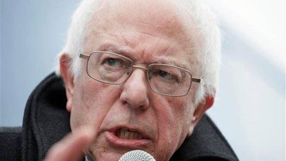 Refreshing to hear Bernie Sanders admit he'll raises taxes?