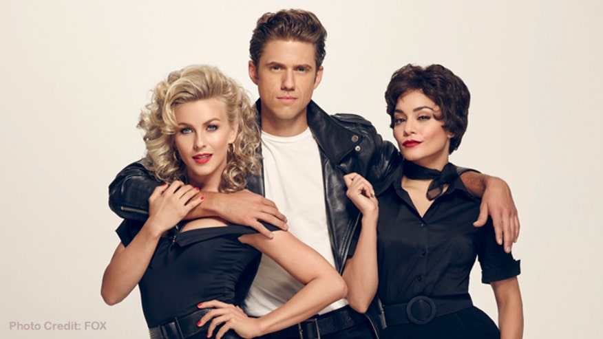 """Aaron Tveit - who will be taking on the role of Danny Zuko in FOX's production of """"Grease: Live"""" - tells Michael Tammero about rehearsals and working with Julianne Hough."""