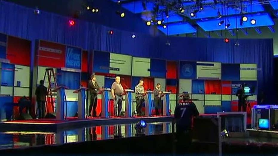 Stage set for final Fox News GOP debate before Iowa caucus