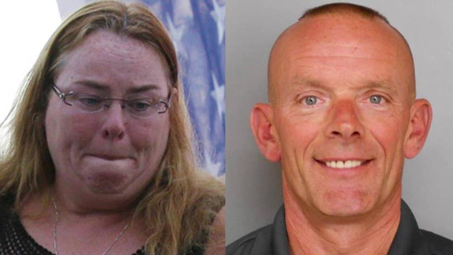 Disgraced cop's widow charged with money laundering