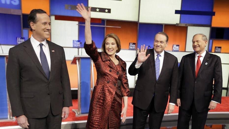 Part 1 of the 7 p.m. Fox News-Google GOP Presidential Debate