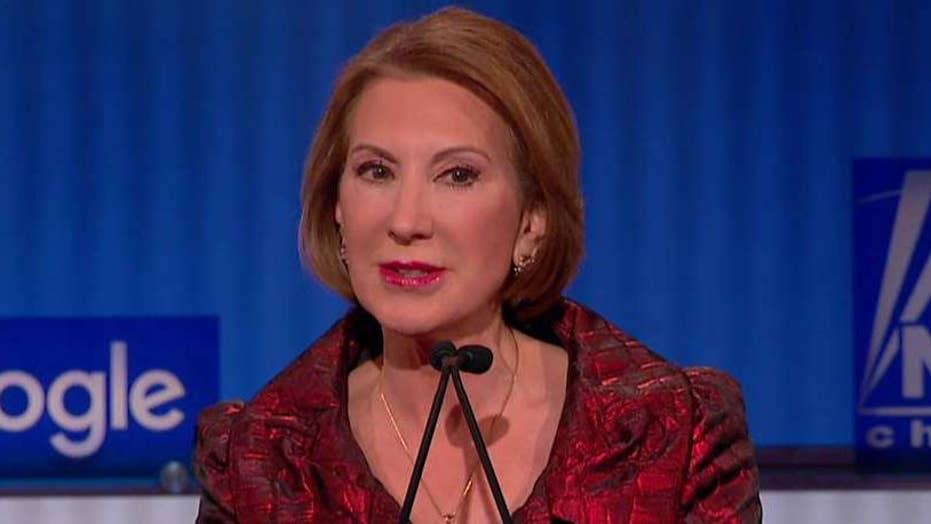Carly Fiorina defends 'tough calls' at HP