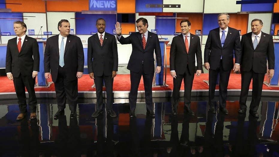 Part 1 of the 9 p.m. Fox News-Google GOP Presidential Debate