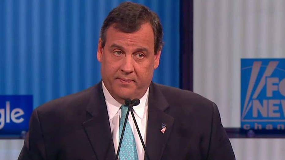 Christie: Hillary Clinton is not qualified to be president