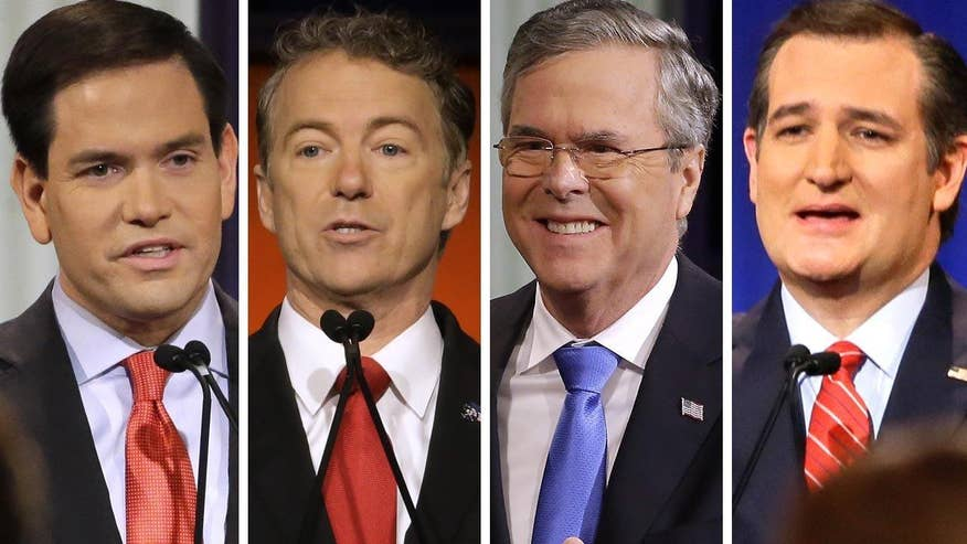 Republican candidates face off in final debate before the Iowa caucuses