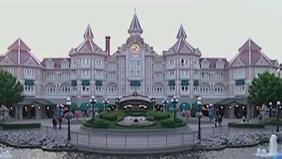 Terror scare at Disneyland Paris after guns, ammo found