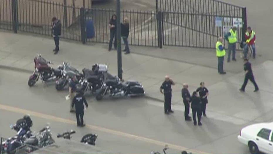Denver police: One dead in shootings at motorcycle expo