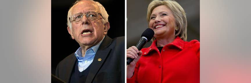 Sanders closing Clinton's national polling lead, as NH votes