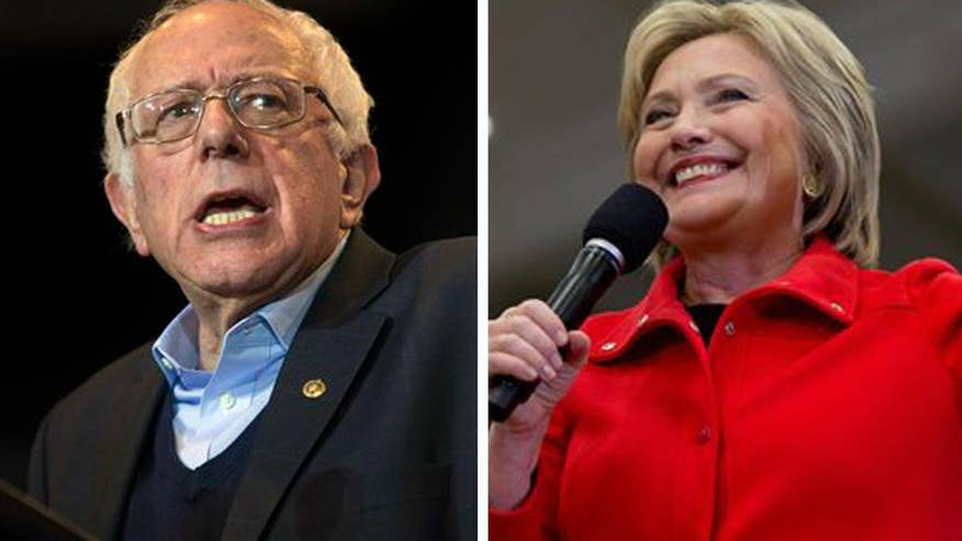 Enthusiasm on the ground appears to show Democratic millennials are 'feeling the Bern' and that could mean trouble for Hillary Clinton amid tight race in the Iowa caucuses. 'On the Record' takes a closer look