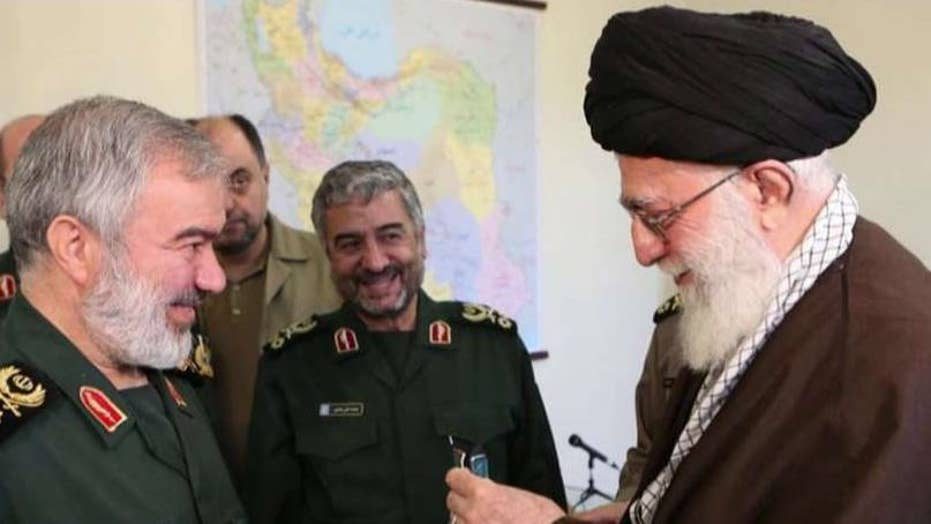 Iran's ayatollah awards medals to troops who held US sailors