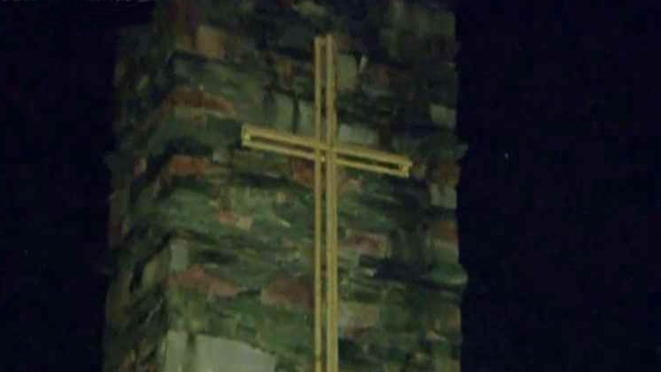 Divine intervention? Nun helps save man trapped under tree
