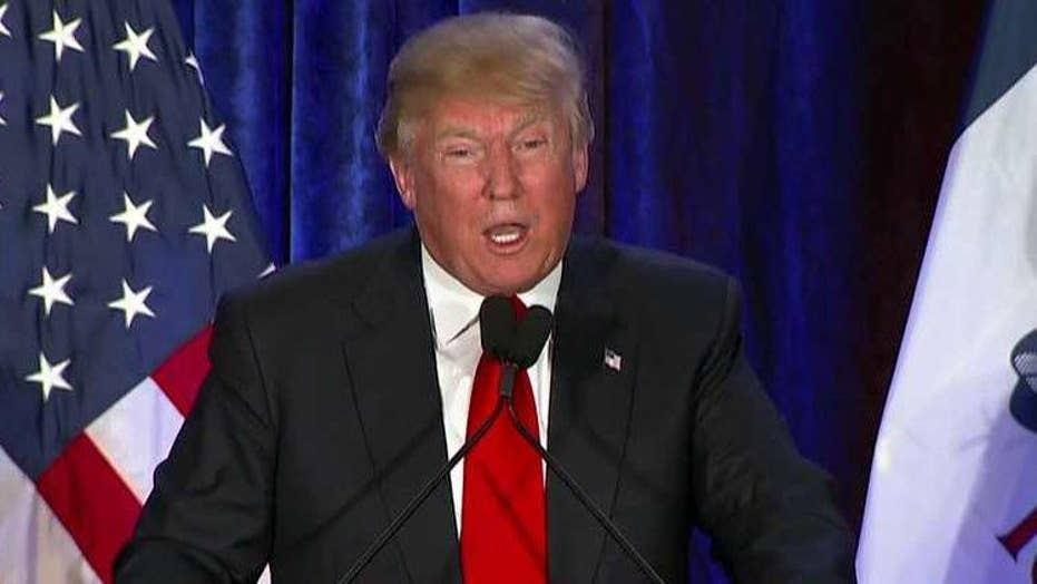 Donald Trump 'honored' by second-place finish