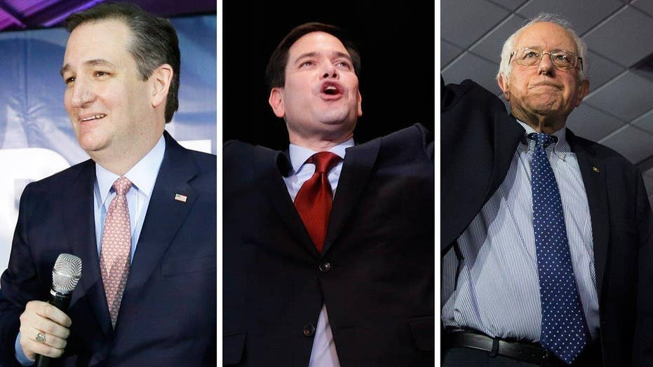 Who has the most momentum after Iowa caucuses?