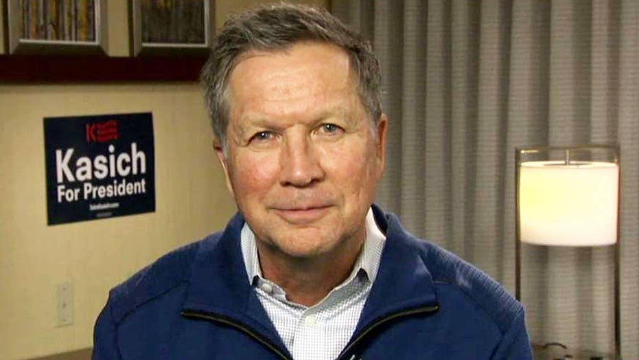 Kasich: We want to be a story coming out of New Hampshire