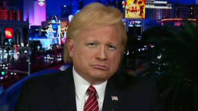 'Donald Trump' feeling the love on 'Red Eye' after Iowa loss