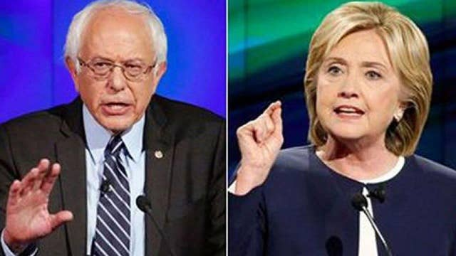 Clinton, Sanders take questions from NH voters at town hall