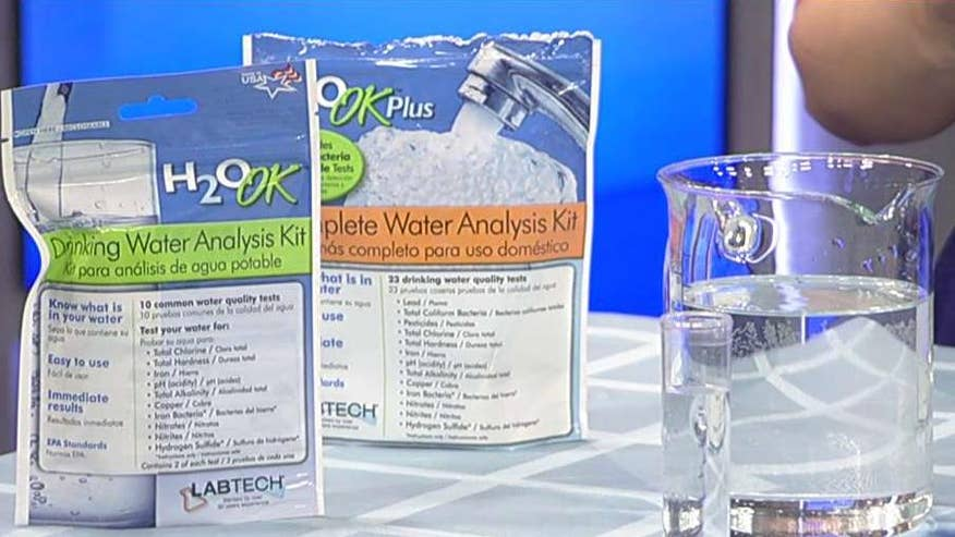 Tests you can perform to ensure your water is safe