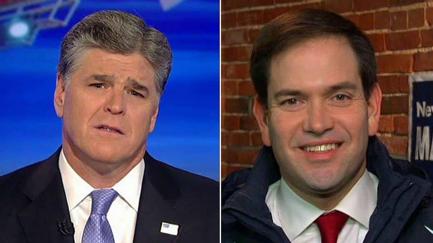 Florida senator says he is not a favorite of big dollar donors, reacts to Cruz, Carson controversy on 'Hannity'