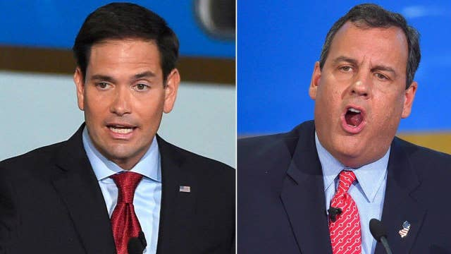 GOP candidates taking aim at Marco Rubio in New Hampshire
