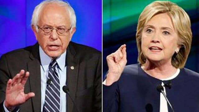 Democratic race is a battle over who is the most progressive