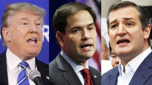 The rhetoric gets harsher before New Hampshire