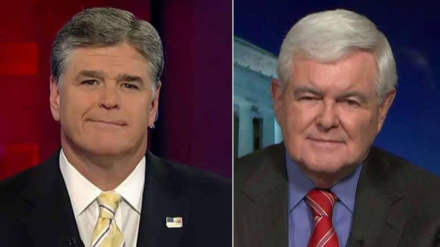 Gingrich: Back-and-forth with Cruz 'shrinks' Trump