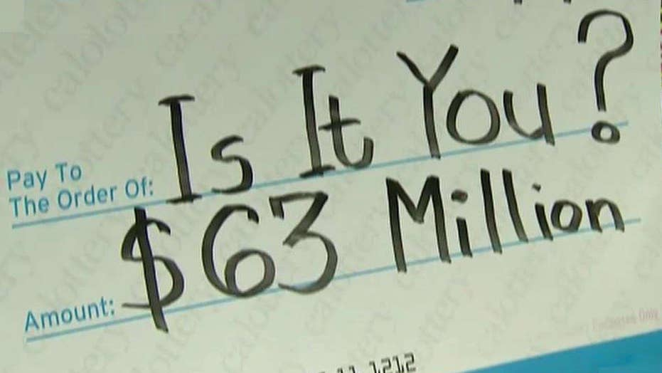 California lottery jackpot remains unclaimed